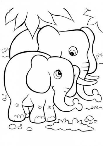 elefanti da disegnare