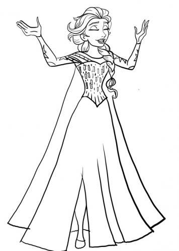 Elsa canta