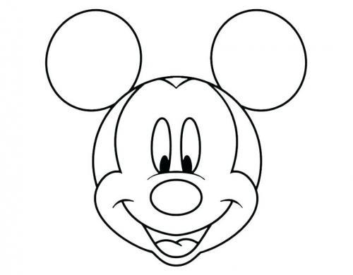 faccia topolino