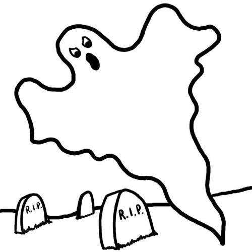 disegno del fantasma