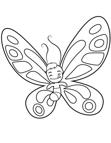 farfalla da disegnare