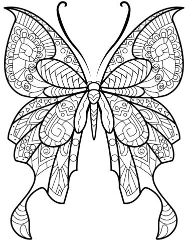 farfalle da stampare