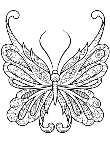 farfalle disegni stilizzati
