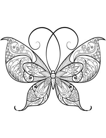 farfalle stilizzate immagini