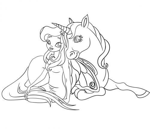 fatina e unicorno