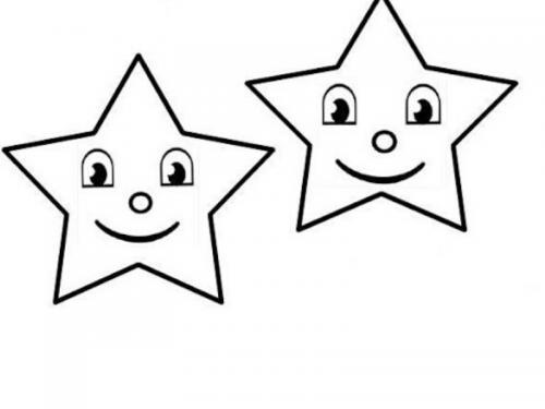 stelle da ritagliare