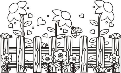 fiorellini da stampare