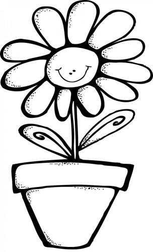 fiori da colorare per bambini