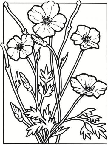 fiori da stampare e ritagliare