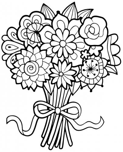 fiori da stampare