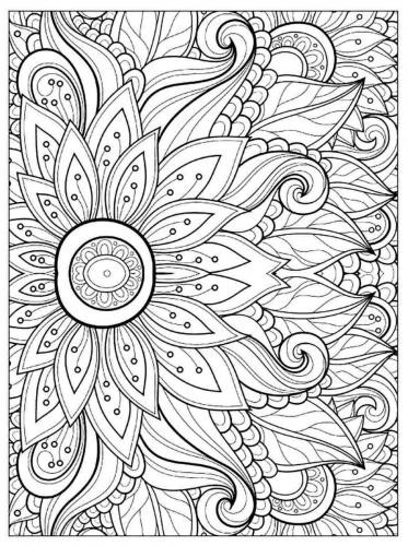 fiori disegnati a matita