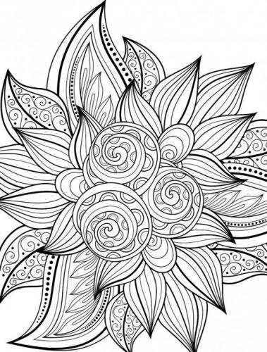 fiori disegni stilizzati