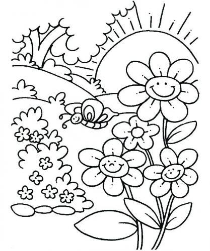 fiori e farfalle immagini