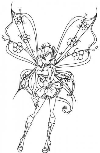 Flora disegno