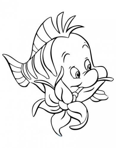 Flounder con il fiore