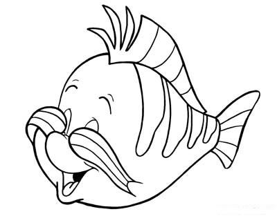 Flounder copre gli occhi