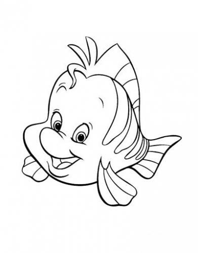 Flounder sorride