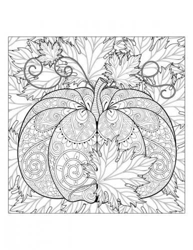 foglie Autunno disegno