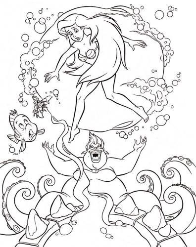 Ariel viene trasformata da Ursula
