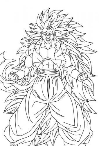 foto di Goku Super Sayan