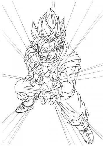 foto di Goku