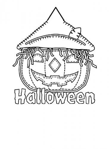 spaventapasseri di Halloween