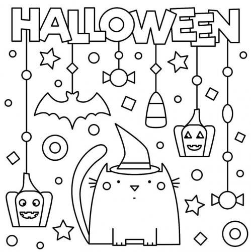 disegno di Halloween