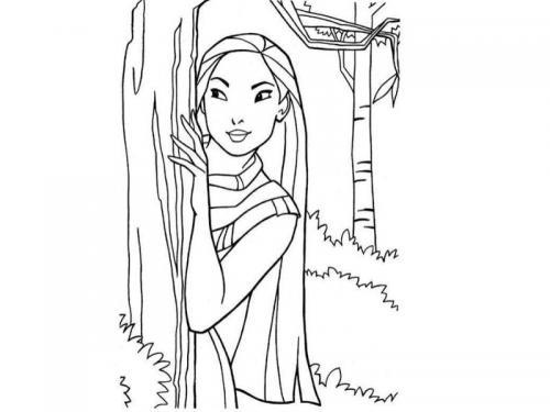 foto principessa Pocahontas