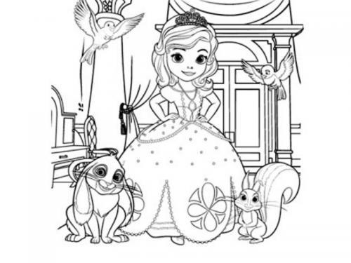 Sofia e i suoi amici animali