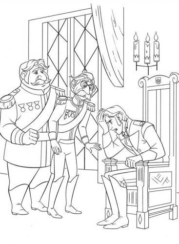 Hans sale sul trono