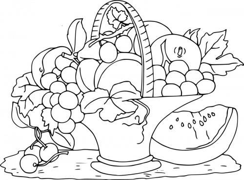 frutta nel cesto
