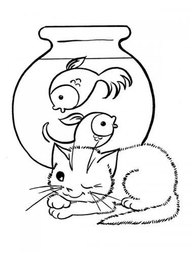 gatti da stampare e colorare