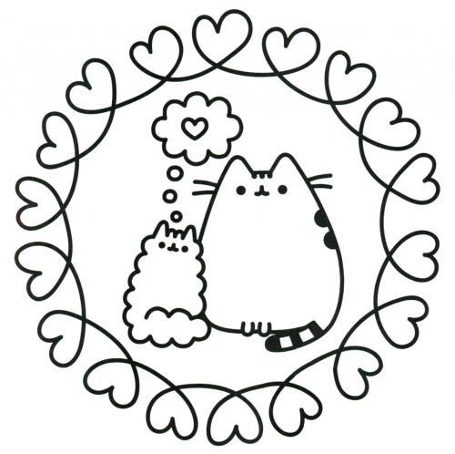 gattini kawaii da colorare e stampare