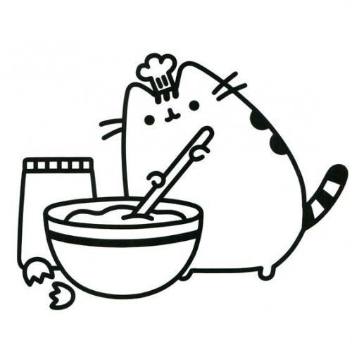 gattini kawaii da colorare