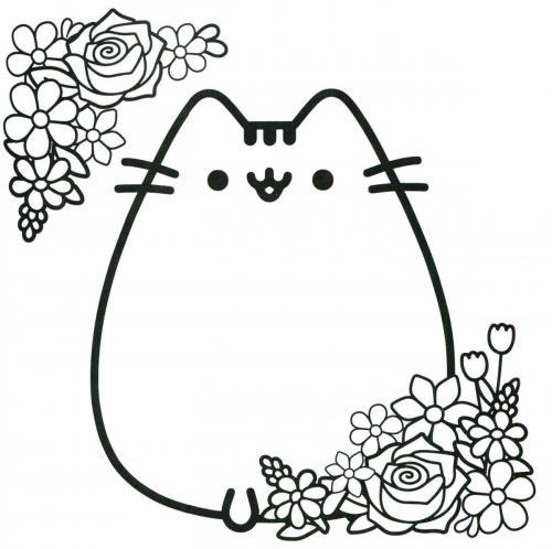 gattini kawaii disegno da stampare