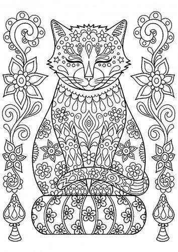 gatto stilizzato
