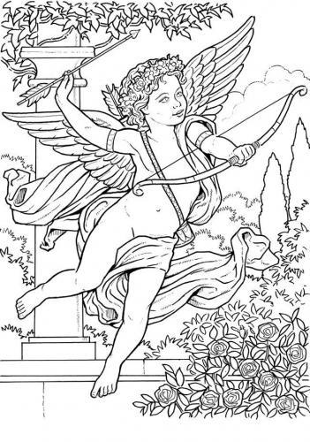 angeli disegni