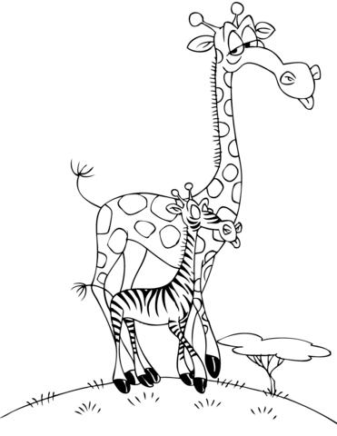 giraffe disegni