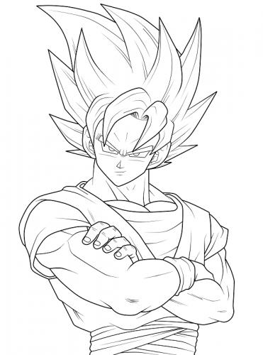 Goku disegni