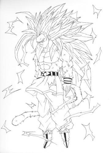 Goku disegno