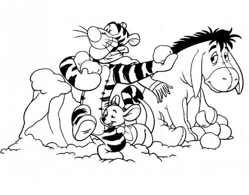 gruppo di amici winnie the pooh