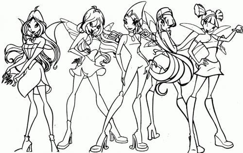 Il gruppo delle winx