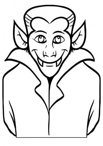 Dracula sorridente