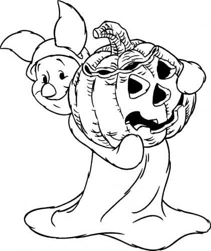 Piggy con la zucca
