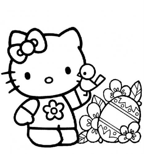 hello kitty colorare