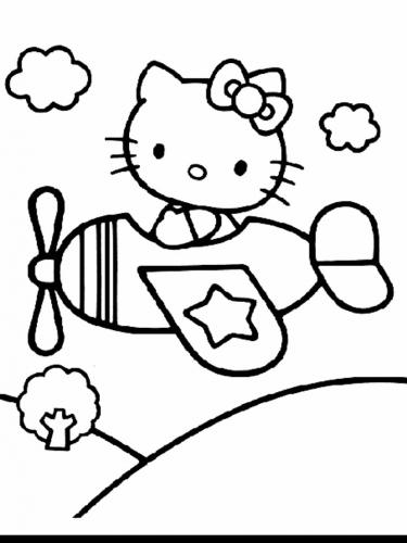 hello kitty da stampare