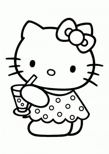 hello kitty disegno