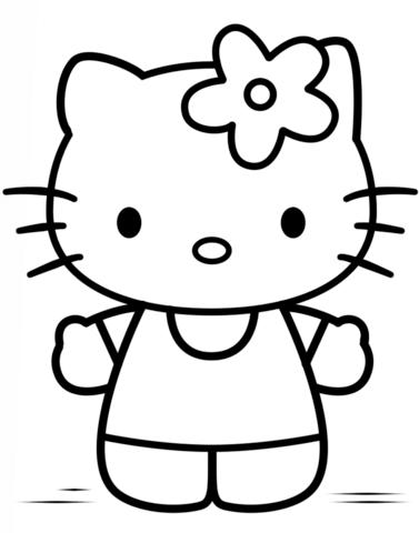 hello kitty immagini da colorare