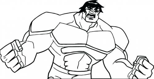 hulk disegni