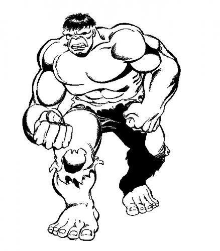 hulk disegno